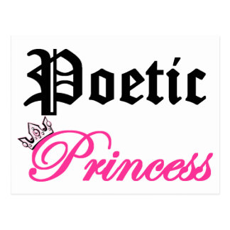 Poetic Princess Postcard