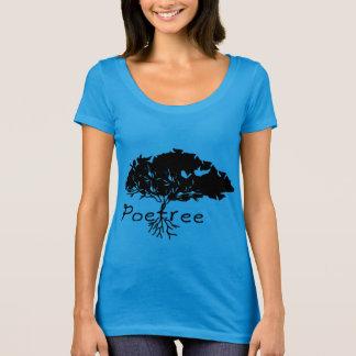 Poetree / Women's Next Level Scoop Neck T-Shirt