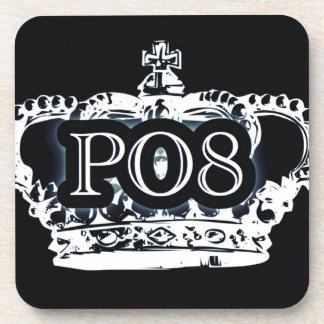 Poetry Crown Drink Coaster