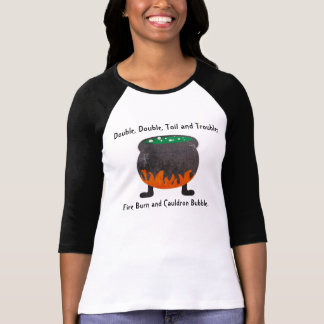 Poetry from Macbeth and Cauldron T-shirt