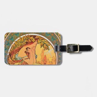 """POETRY from the series """"The Arts"""" by Mucha Bag Tag"""