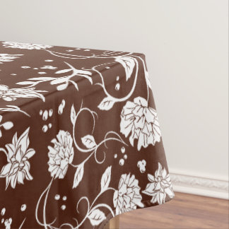 Poetry Garden Flower Tablecloth