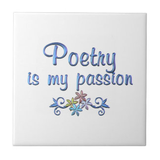 Poetry Passion Tile