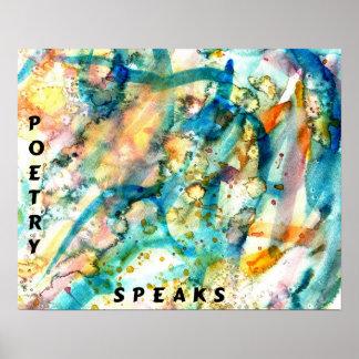 POETRY SPEAKS Poster