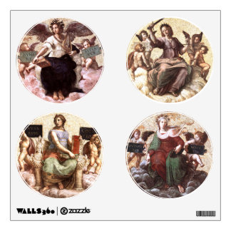 POETRY ,THEOLOGY ,JUSTICE AND PHILOSOPHY WALL STICKER