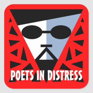 POETS IN DISTRESS DADDY COOL STICKER