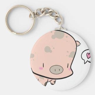 Pog the piggy keychain