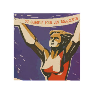Pogo more not thawed out Communism Quebec pol. Wood Wall Decor