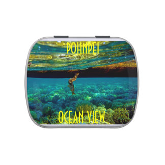 POHNPEI OCEAN VIEW/CANDY TIN