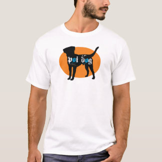 Poi Dog Hawaii Logo Design T-Shirt