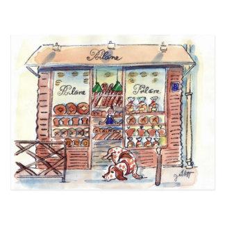 Poilane Boulangerie Paris Carte Postale