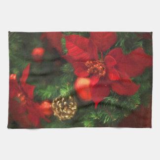Poinsettia Beauty Kitchen Towel