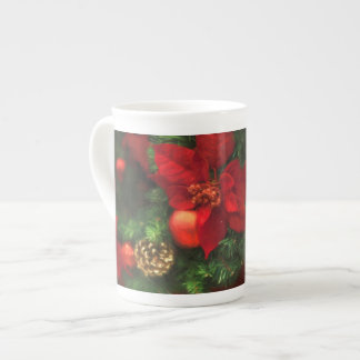 Poinsettia Beauty Mug