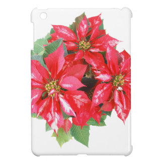 Poinsettia Christmas Star transparent PNG Case For The iPad Mini