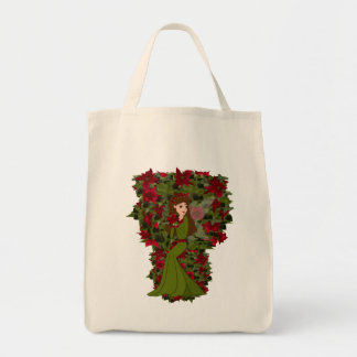Poinsettia Faery Bag