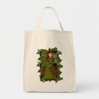 Poinsettia Faery Bag