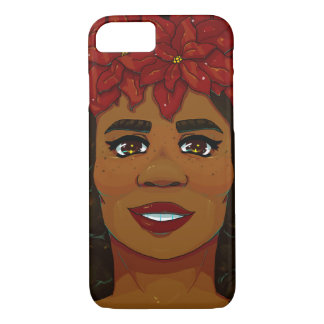 Poinsettia iPhone 8/7 Case