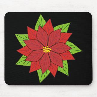 Poinsettia Mouse Pad