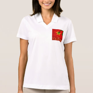 Poinsettia Polo Shirt