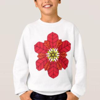Poinsettia Snowflake Sweatshirt