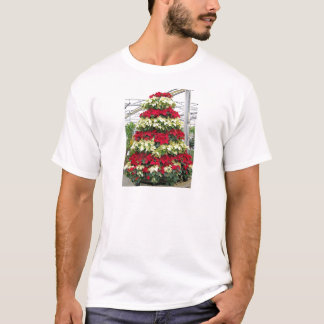 Poinsettia Tree T-Shirt