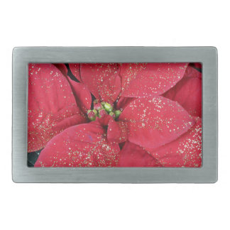 Poinsettias Belt Buckle