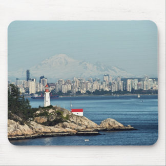 Point Atkinson Light Mouse Pad