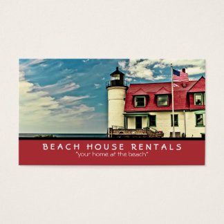 Point Betsie Lighthouse Business Card