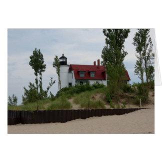 Point Betsie Lighthouse Card