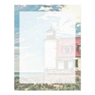 Point Betsie Lighthouse Letterhead