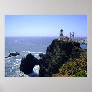 Point Bonita Historic Lighthouse Poster