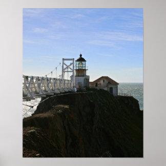 Point Bonita Lighouse, San Fransisco Bay Poster