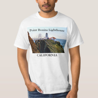 Point Bonita Lighthouse, California T-Shirt