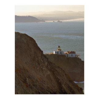 Point Bonita Lighthouse in San Francisco CA Letterhead