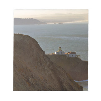 Point Bonita Lighthouse in San Francisco CA Notepad