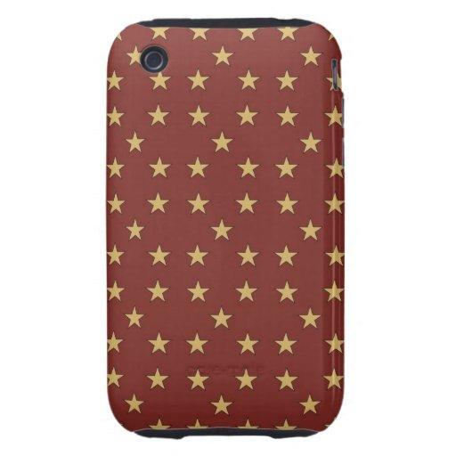 Point de polka de vacances ou cas intelligents de  étui tough iPhone 3