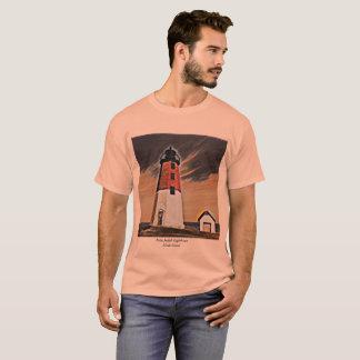 Point Judith Lighthouse Rhode Island Tshirt