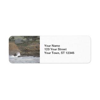 Point Lobos Return Address Label