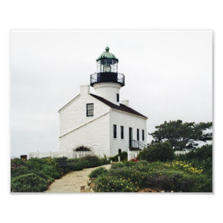 Point Loma Lighthouse Photo Print