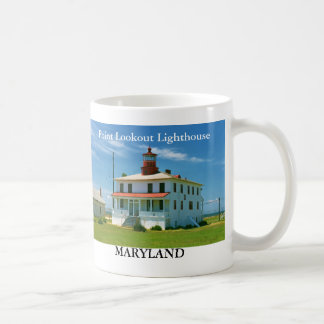 Point Lookout Lighthouse, Maryland Mug