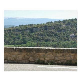 Point of view on the countryside of Venasque Photo