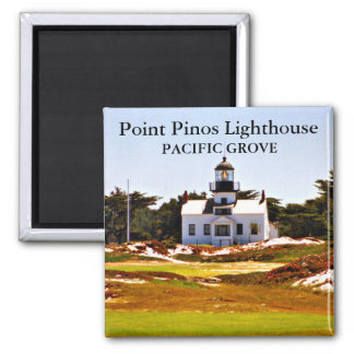 Point Pinos Lighthouse, California Magnet