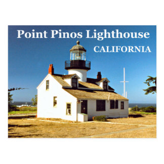 Point Pinos Lighthouse, California Postcard