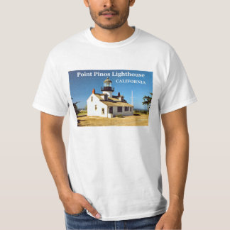 Point Pinos Lighthouse, California T-Shirt