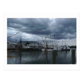 Point Pleasant Beach Fishing Boats Postcard