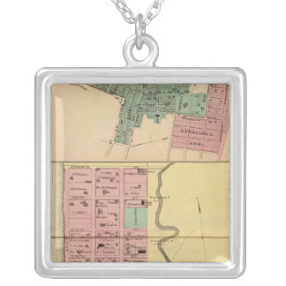 Point Pleasant, Mason Company Silver Plated Necklace