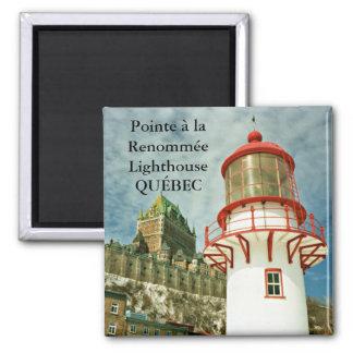 Pointe à la Renommée Lighthouse, Québec Magnet