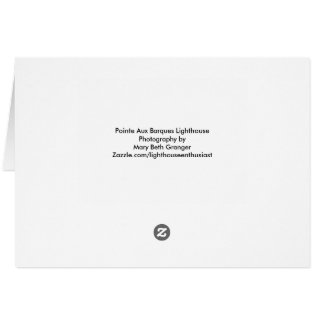 Pointe Aux Barques Lighthouse Card