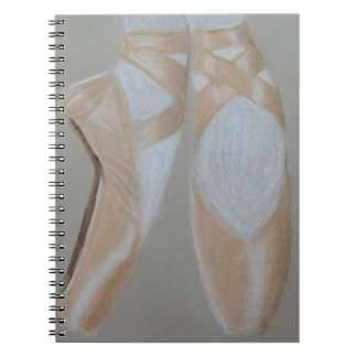 Pointe Ballet Feet Notebooks