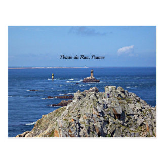 Pointe du Raz, France Postcard